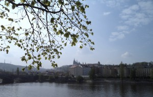 Prague Castle in Fall