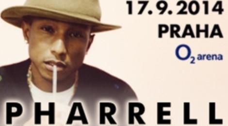Pharrell in Prague